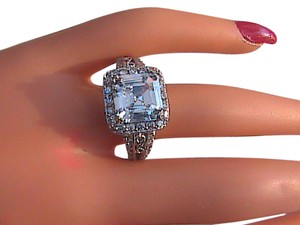 Other Sterling Silver Cluster CZ Ring (S3)
