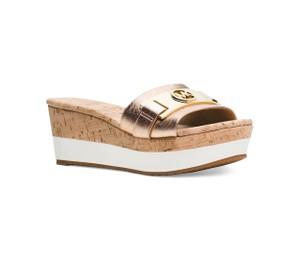 e52d652daed2 Women s Gold Michael Kors Shoes - Up to 90% off at Tradesy