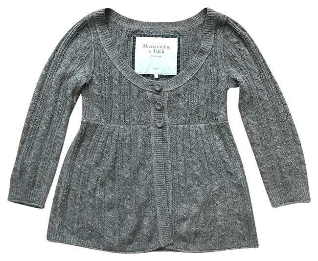 Preload https://img-static.tradesy.com/item/21094550/abercrombie-and-fitch-grey-babydoll-cardigan-size-4-s-0-1-650-650.jpg