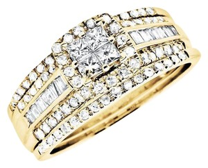 Other Princess Quad Diamond Stack-able Engagment Wedding Ring 1.0ct
