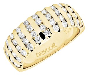 Other Mens Channel Set Genuine Diamond Comfort Wedding Band 1.50ct