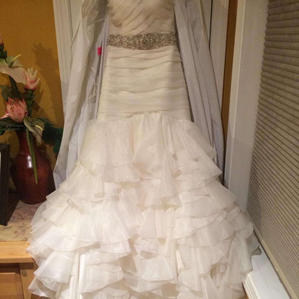 Dennis Basso Ivory For Kleinfeld Fit And Flare Gown Modern