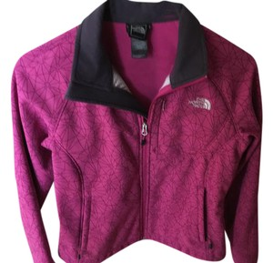 The North Face Maroon and black Jacket