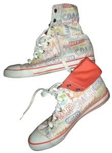 Coach High Tops Sneakers multi-color Athletic