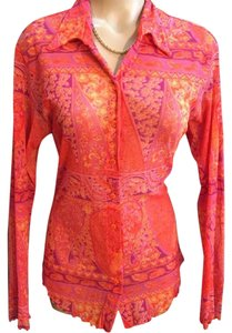 Sweet Pea by Stacy Frati Top Orange