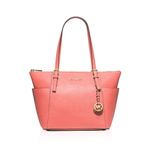 Michael Kors Travel Tote in Pink Grapefruit