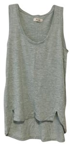 Madewell Heathered Top Pale mint