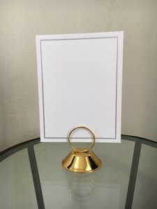 Party City Gold Table Number Place Card Holder Reception Decoration