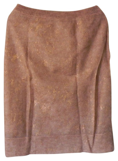 Item - Nude/Rose Gold Jessie Skirt Size 4 (S, 27)