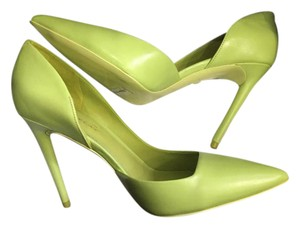 Kenneth Cole Lime Green Pumps