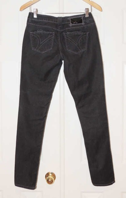 Younique Clothing Stretchy Skinny Jeans-Dark Rinse