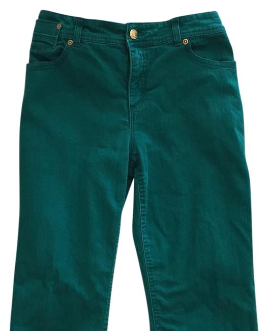Item - Green Straight Leg Jeans Size 33 (10, M)