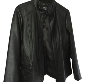 A.N.A. a new approach Dark Brown Leather Jacket
