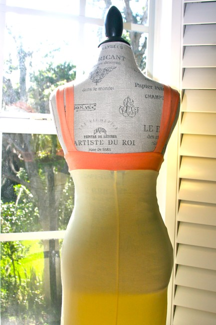 Guess short dress Yellow Bodycon Stretch Sexy on Tradesy