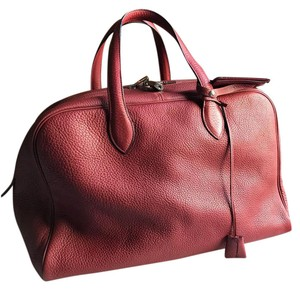 Hermès Victoria Red Large Tote