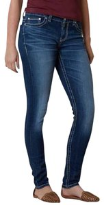 BKE Skinny Stretchy The Distressed Skinny Jeans-Distressed