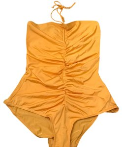 French Connection FRENCH CONNECTION YELLOW BATHING SUIT