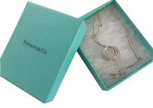 Tiffany & Co. Sterling Silver Interlocking Circles Pendant Necklace