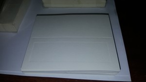 New! Ivory Embossed Place Cards 150 Ct