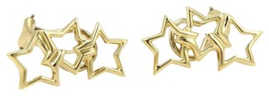 Tiffany & Co. Tiffany & Co. 18k Yellow Gold Three Stars Stud Earrings