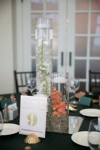 Gold Assorted Seashell Table Number Holders 18 Ct