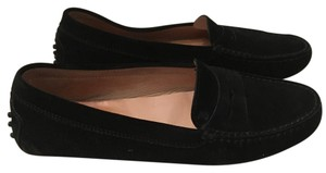 Tod's black and brown pair Flats
