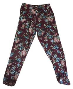 Forever 21 Baggy Pants floral