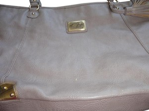 Marc Fisher Shopping Handbag Tote in silver/gold