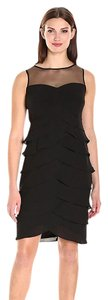London Times Sleeveless Sheath Dress