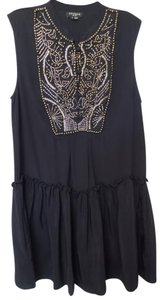 Gryphon Silk Lbd Designer Beaded Dress