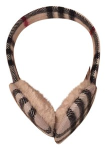 Burberry Burberry Check Earmuffs