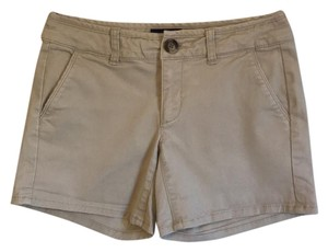 American Eagle Outfitters Cuffed Shorts Khaki