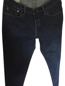 Abercrombie & Fitch Relaxed Fit Jeans-Dark Rinse