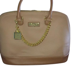 Joy & IMAN Satchel in camel