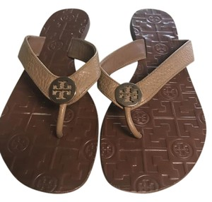 Tory Burch Royal Tan/Gold Sandals