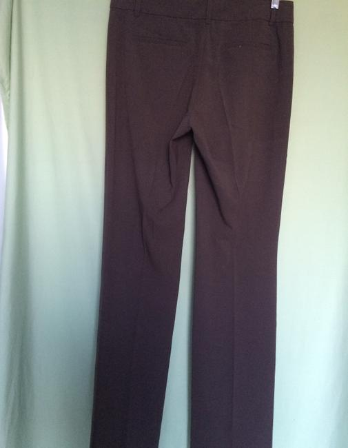 Tahari Trouser Pants Dark Brown
