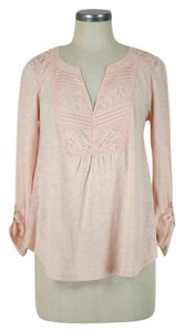 Anthropologie Top pale pink