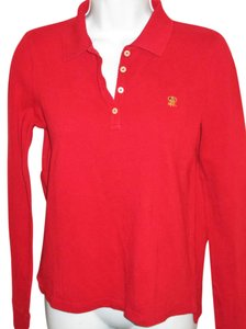 Ralph Lauren Longsleeve Polo Xs Ralph Top RED