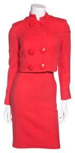 Versace Versace Coral Fitted Dress Suit