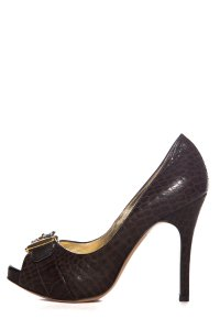 Luciano Padovan Brown Pumps