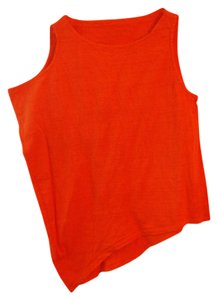 Eileen Fisher Linen Top Orange