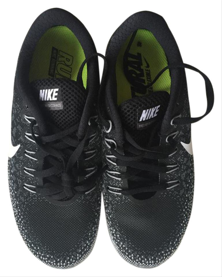 hot sale online 662d2 4a91a Nike Black Free Rn Distance Sneakers Size US 6 Regular (M, B) 46% off retail