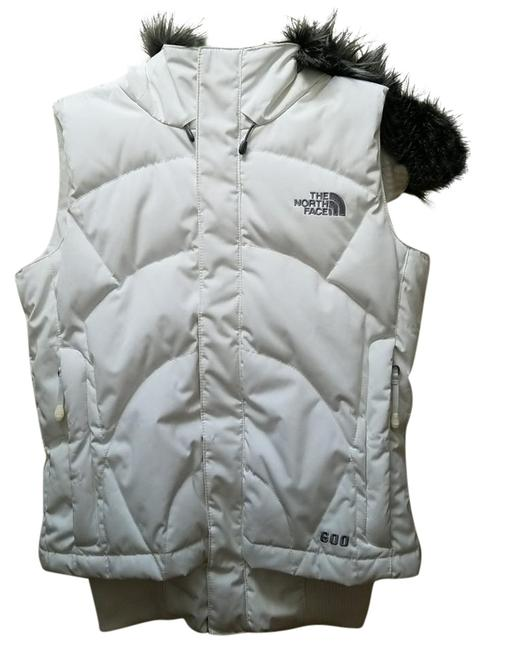 Item - White 600 Down Vest Size 0 (XS)