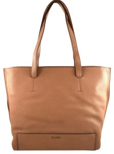 Fossil Tote in camel brown