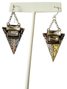 Other Silver-Tone & Crystal Arrow Dangle Earrings