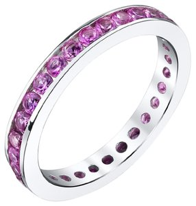 Other Pink Sapphire Eternity Band