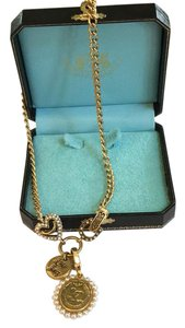 Juicy Couture Gold Juicy Couture Charm Necklace