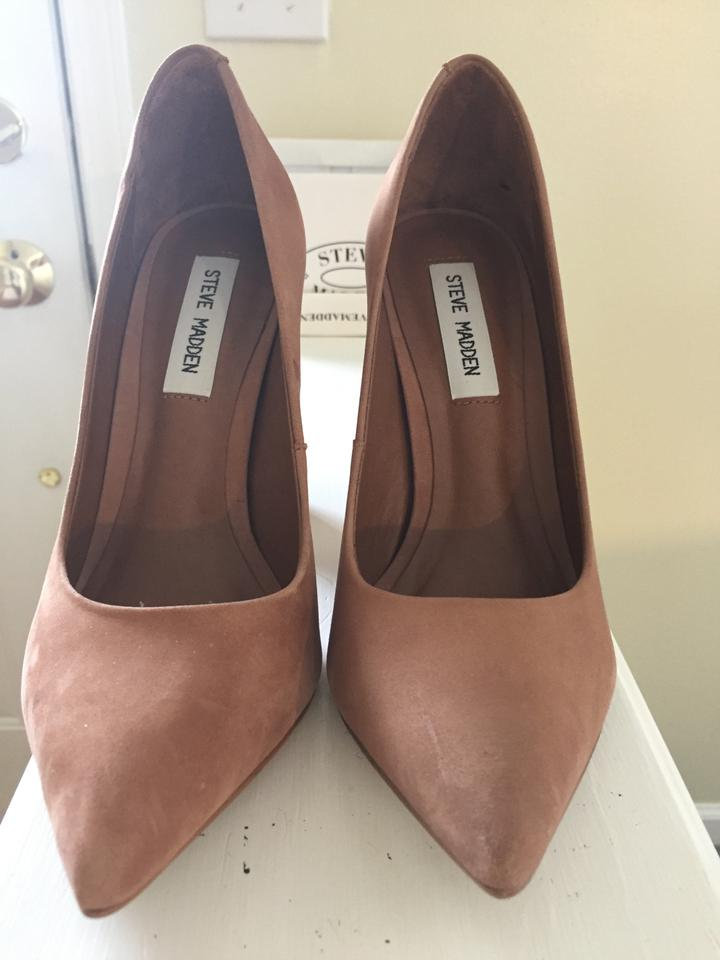 ac18a30e961 Steve Madden Camel Never Worn 'primpy' Pointy Toe Block Heel Pumps Size US  8 40% off retail
