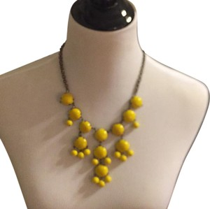 ZAD Yellow bib necklace