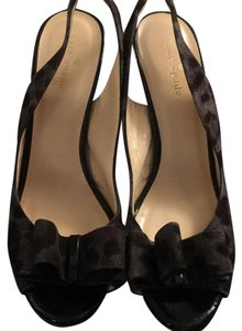 Kate Spade black with charcoal grey leopard like pattern Formal